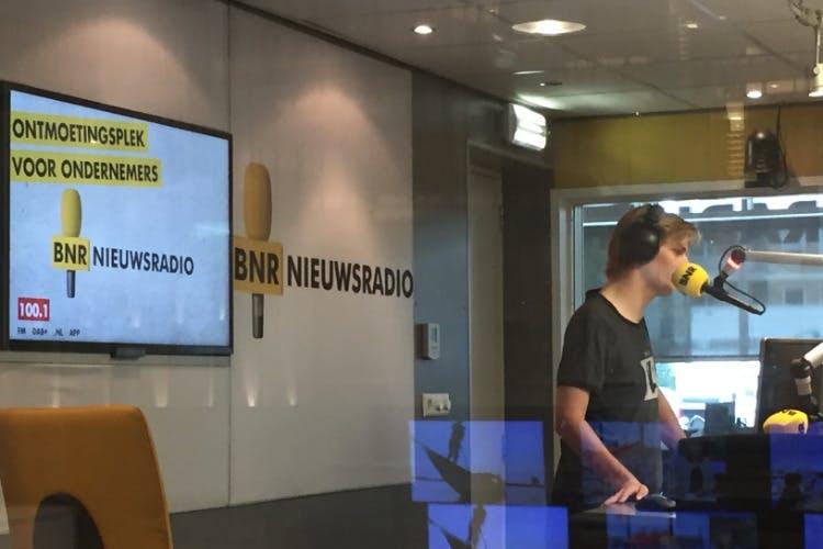 Singlereizen.nl te gast bij BNR Zakendoen
