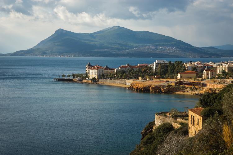 Het Griekse eiland Evia voor 50Plus singles