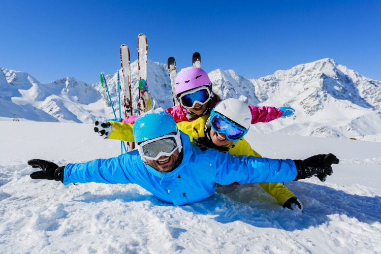Wintersport met een leuke groep eenouders is zóveel leuker!