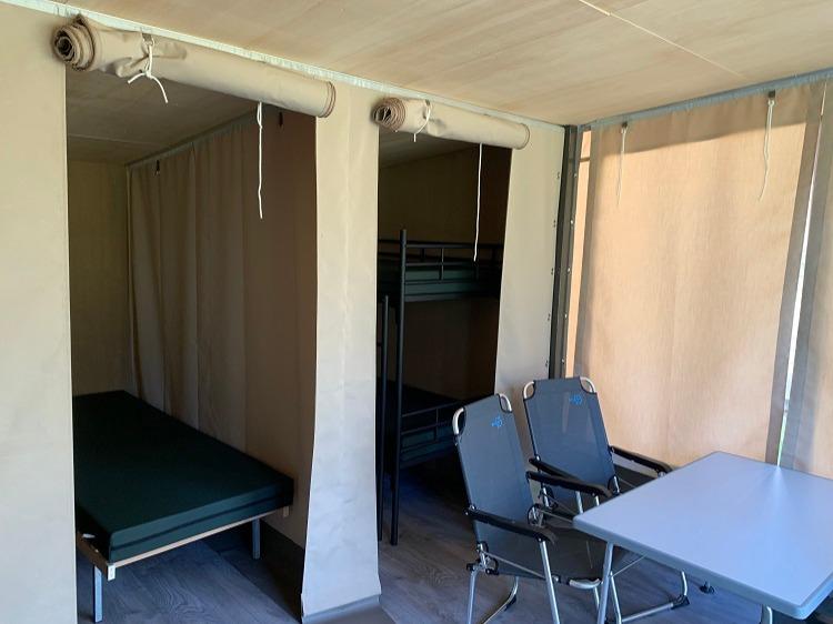 Eenoudervakantie Zomerplezier Kamperen in tentlodge