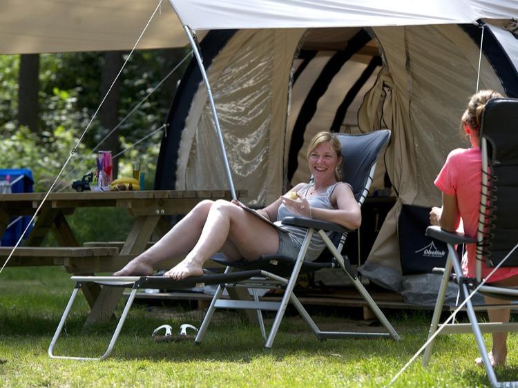 Eenoudervakantie Zomerplezier Kamperen op tentplaats