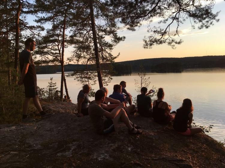 Eenoudervakantie Kanotrekking  in Zweden