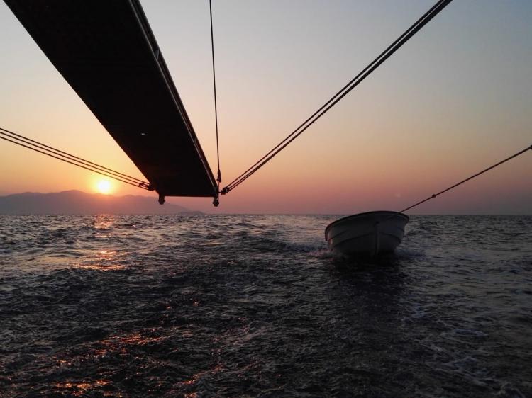 Singlereis Zeilen in Turkije