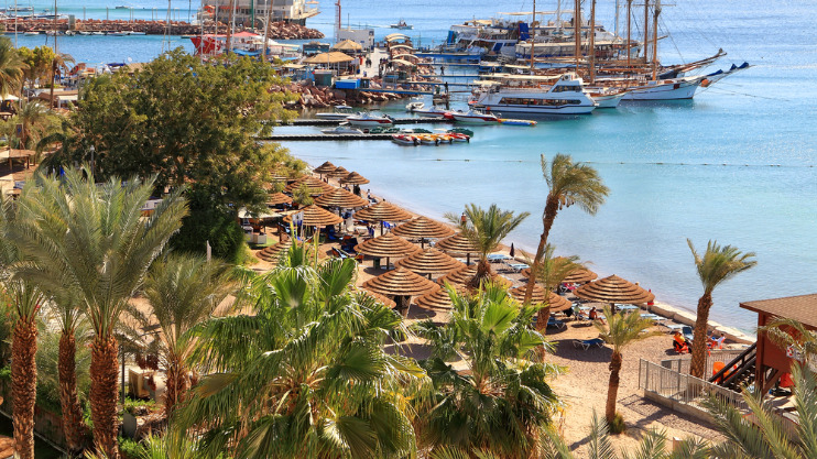 Singlereis Single Beach Club Eilat, Israel