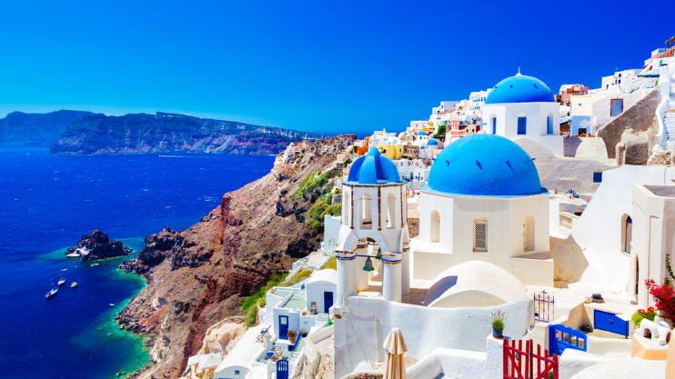 Eilandhoppen langs de Griekse eilanden