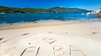 Alleenstaande ouder strandvakantie naar Elba, Italie