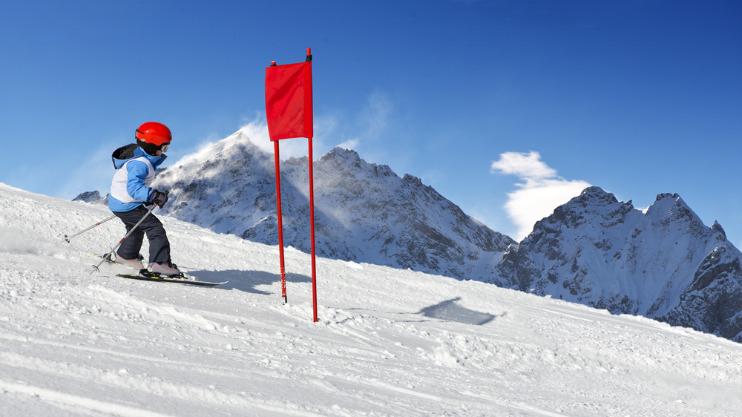 Eenoudergezinnen met vakantie naar de sneeuw