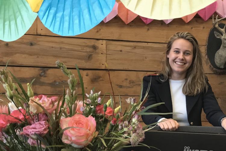 Topper Alexandra 5 jaar in team Singlereizen.nl