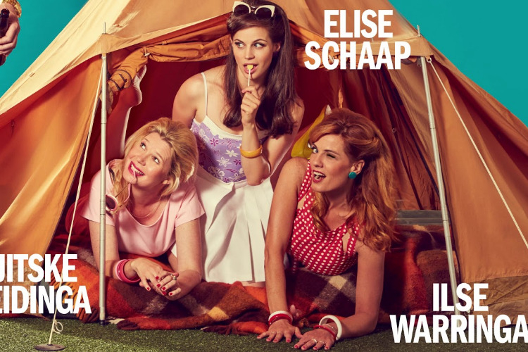 Single Camping, zoetzure theaterkomedie met Ilse Warringa