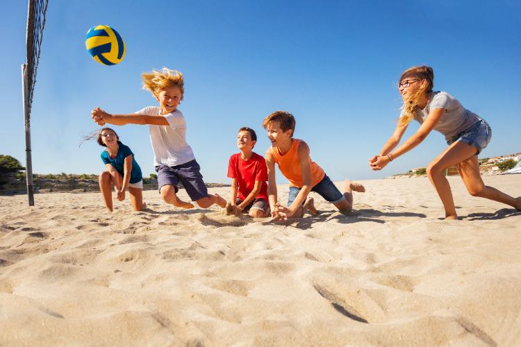 Actieve en betaalbare eenoudervakantie op Strand Maaslanden