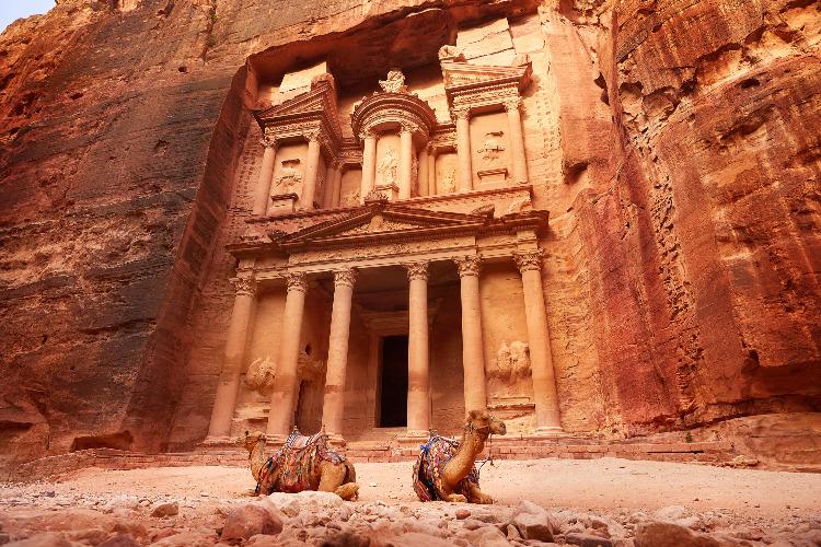 Actieve singlereis rondreis Jordanië