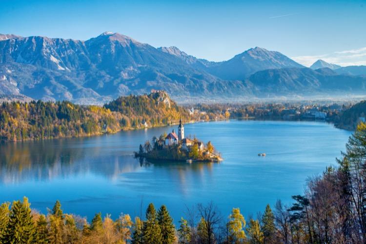 Actieve singlereis Slovenië