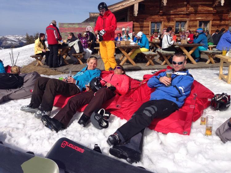 Singlereis Wintersport in Niederau