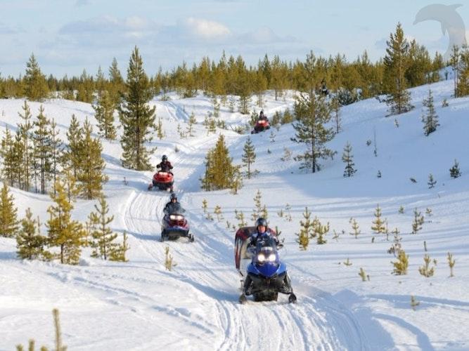 Groepsreis Wintersport Lapland in winters Scandinavië