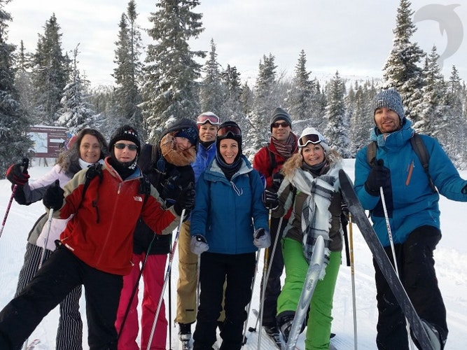 Singlereis Winters Avontuur in Zweden