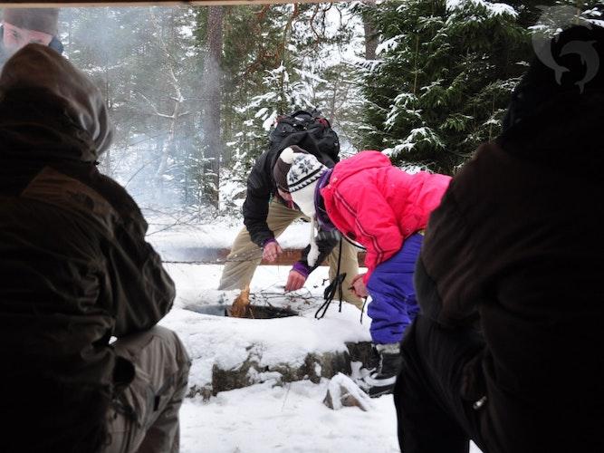 Eenoudervakantie Winters Avontuur in Zweden