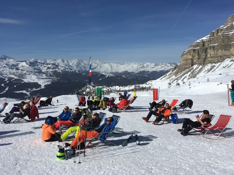 Eenoudervakantie Sneeuwplezier in Pinzolo