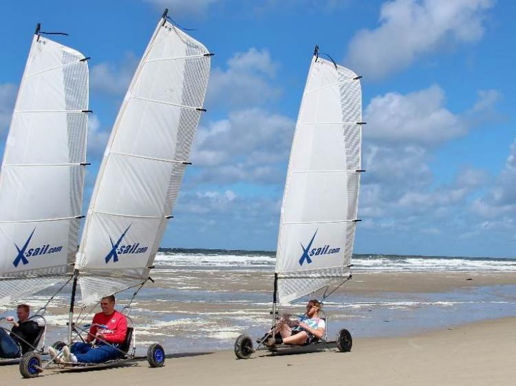 Groepsreis Actieve vakantie Uitwaaien op Texel
