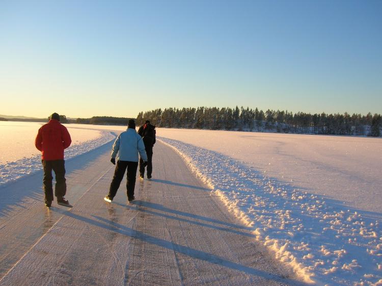 Groepsreis Actieve winterreis Varmland in Zweden