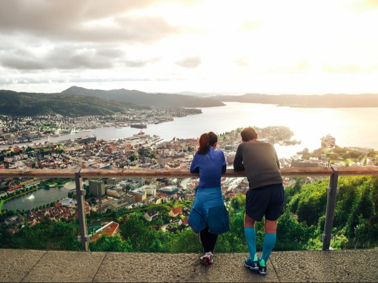 Singlereis Noorwegen 6-daagse stedentrip