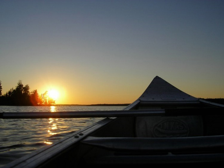 Groepsreis Kanotrekking in Zweden